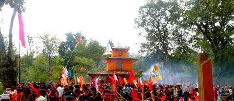 पर्यटकीय स्थल मणिका धाम मन्दिर