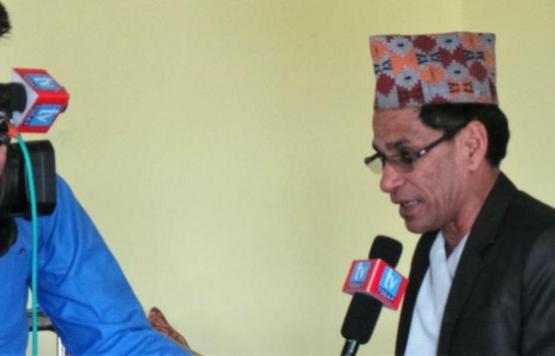 नगर प्रमुख श्री दिल बहादुर ऐर ज्यु